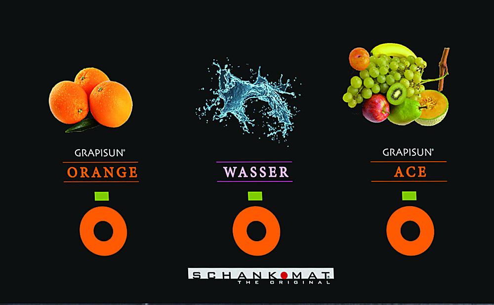 Schankomat S21<br> gyümölcs ívólé adagoló